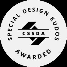 CSS Design AWARD SPECIAL DESIGN KUDOS